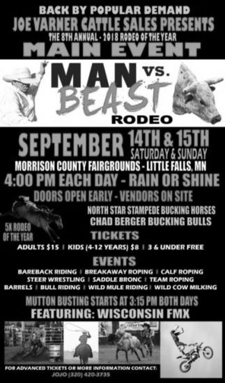8th Annual Man vs Beast Rodeo
