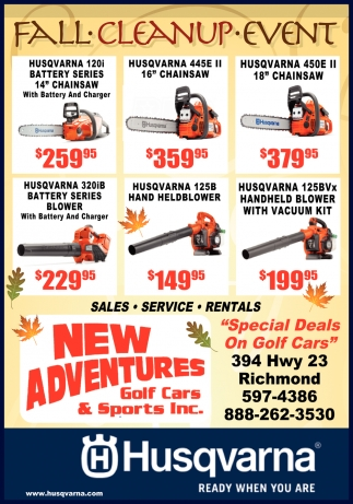 Special Deals On Golf Cars