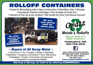 Rolloff Containers