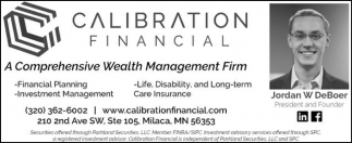 A Comprehensive Wealth Management Firm