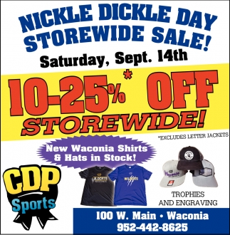 Nickle Dickle Day Storewide Sale!