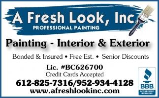 Painting, Interior & Exterior