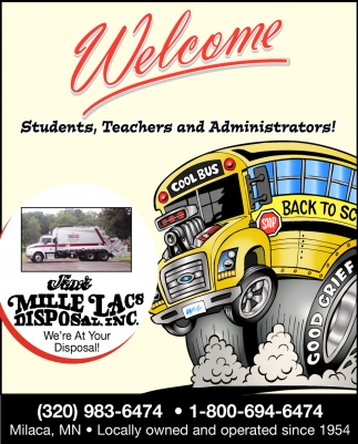 Welcome Students, Teachers & Administrators!