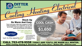 Cooling, Heating & Electrical Services