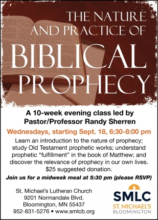 The Nature & Practice of Biblical Prophecy