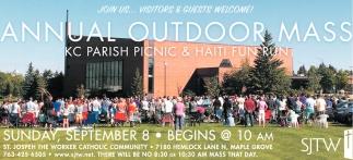 Annual Outdoor Mass