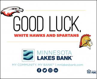 Good Luck White Hawks & Spartans
