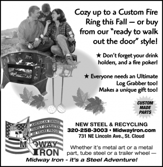 Midway Iron - It's a Steel Adventure!
