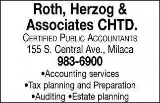 Certified Public Accountants