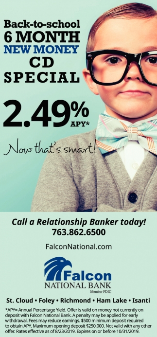 Call a Relationship Banker Today!