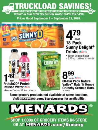 Truckload Savings!, Menards, Minneapolis, MN
