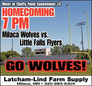 Meet at Claffy Field September 13