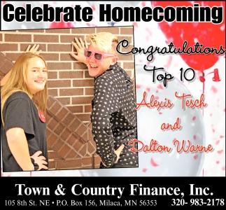 Celebrate Homecoming