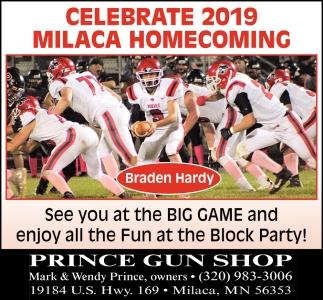Celebrate 2019 Milaca Homecoming