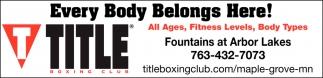Every Body Belongs Here!