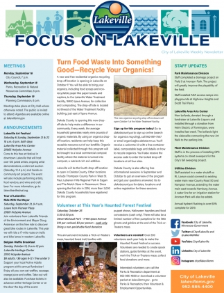 Focus On Lakeville