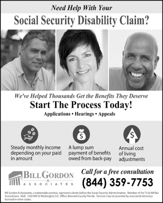 Need Help with Your Social Security Disability Claim?