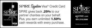 Spire Signature Visa Credit Card