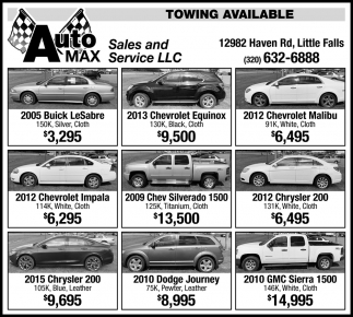 Towning Available