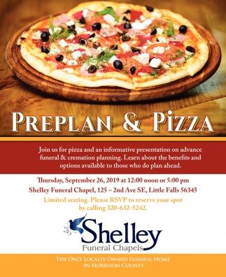 Preplan & Pizza