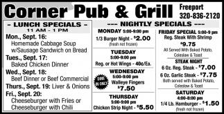Lunch Specials & Nightly Specials