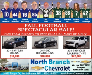 Fall Football Spectacular Sale!