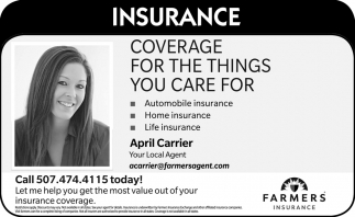 Coverage for the Things You Care for