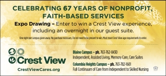 Celebrating 67 Years of Nonprofit, Faith-Based Services