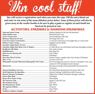 Win Cool Stuff