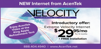 New Internet From AcenTek
