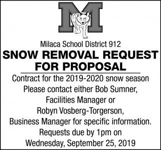Snow Removal Request for Proposal