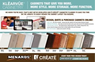 Cabinets that Give You More