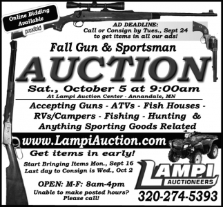 Fall Gun & Sportsman Auction