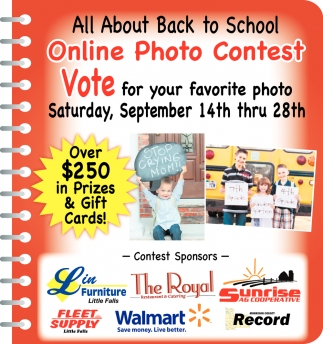 All About Back to School Online Photo Contest