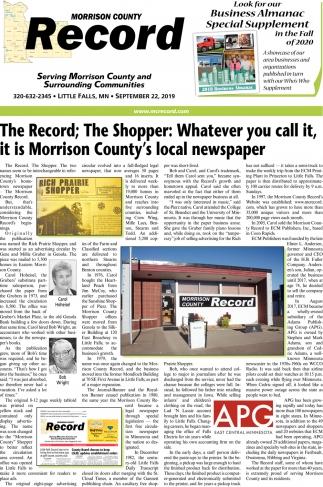 Serving Morrison County & Surrounding Communities