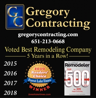 Voted Best Remodeling Company 5 Years in a Row!