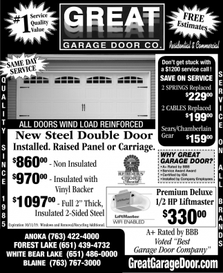 New Steel Double Door