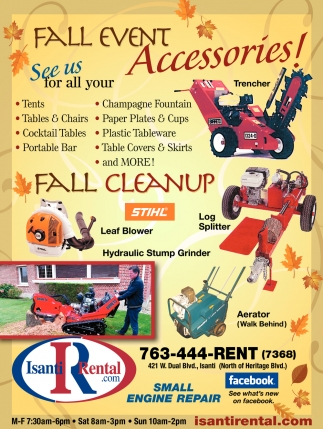 Fall Event Accessories!