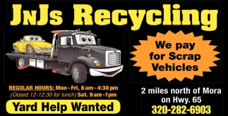 We Pay for Scrap Vehicles