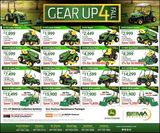 Gear Up 4 Fall
