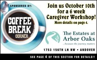 Join Us October 10th for a 6 Week Caregiver Workshop!