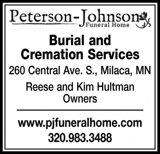 Burial and Cremation Services