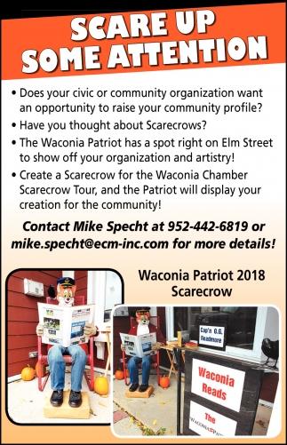 Waconia PAtriot 2018 Scarecrow