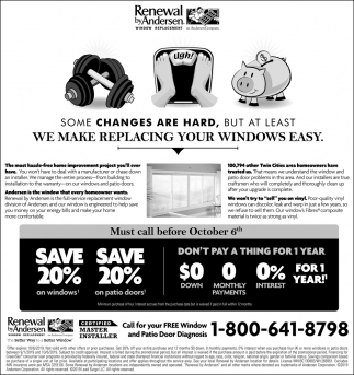 We Make Replacing Your Windows Easy