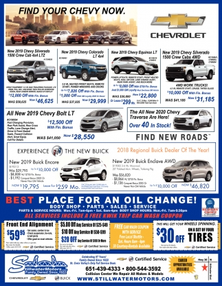 Find Your Chevy Now