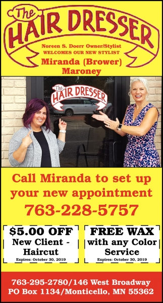 Call Heather to Set Up Your New Appointment