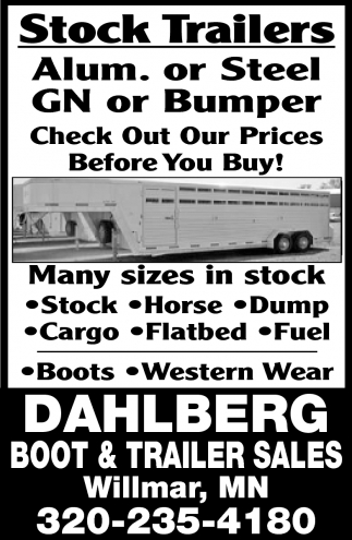 Stock Trailers