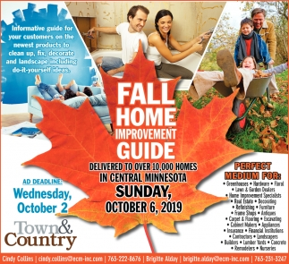 Fall Home Improvement Guide