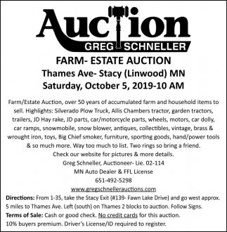 Farm-Estate Auction