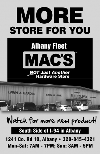 More Store for You